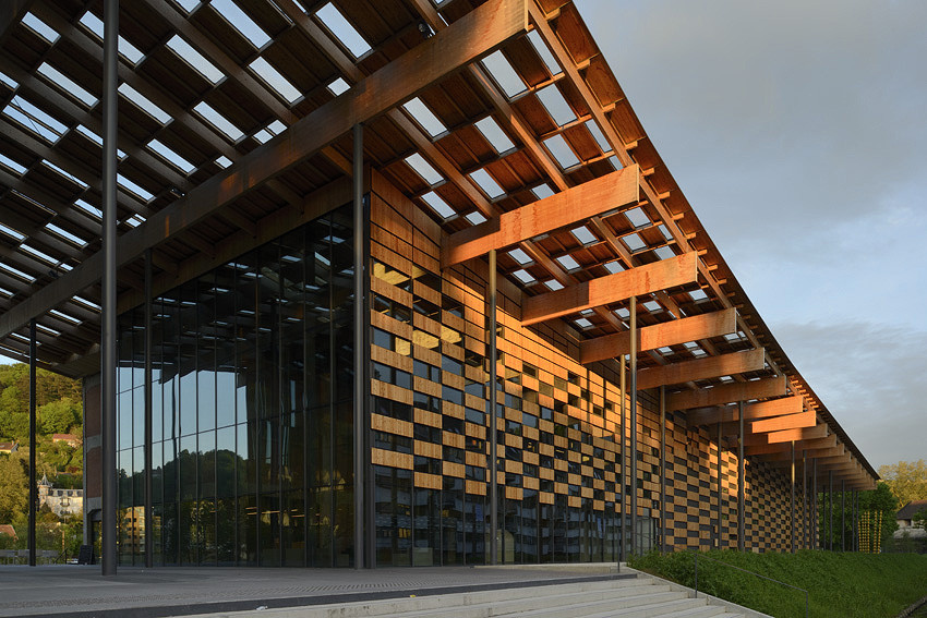 Cite des arts et de la culture kengo kuma associates for Art et architecture