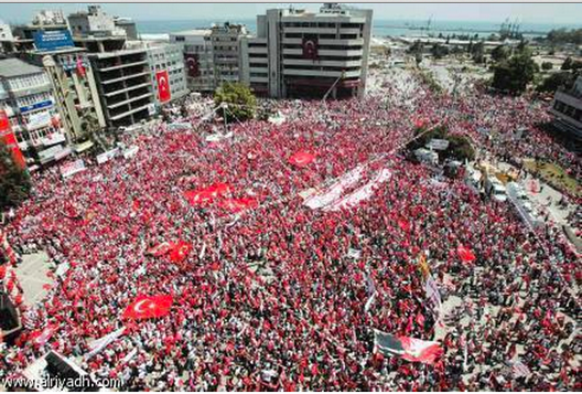 Last week's protests in Taksim Square