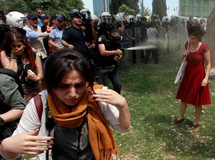 Istambul: O grande protesto para salvar o último parque público da cidade