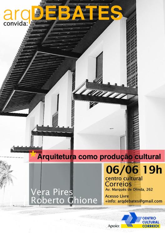 Palestra com VPRG Arquitetos no arqDEBATES, Cortesia de arqDEBATES