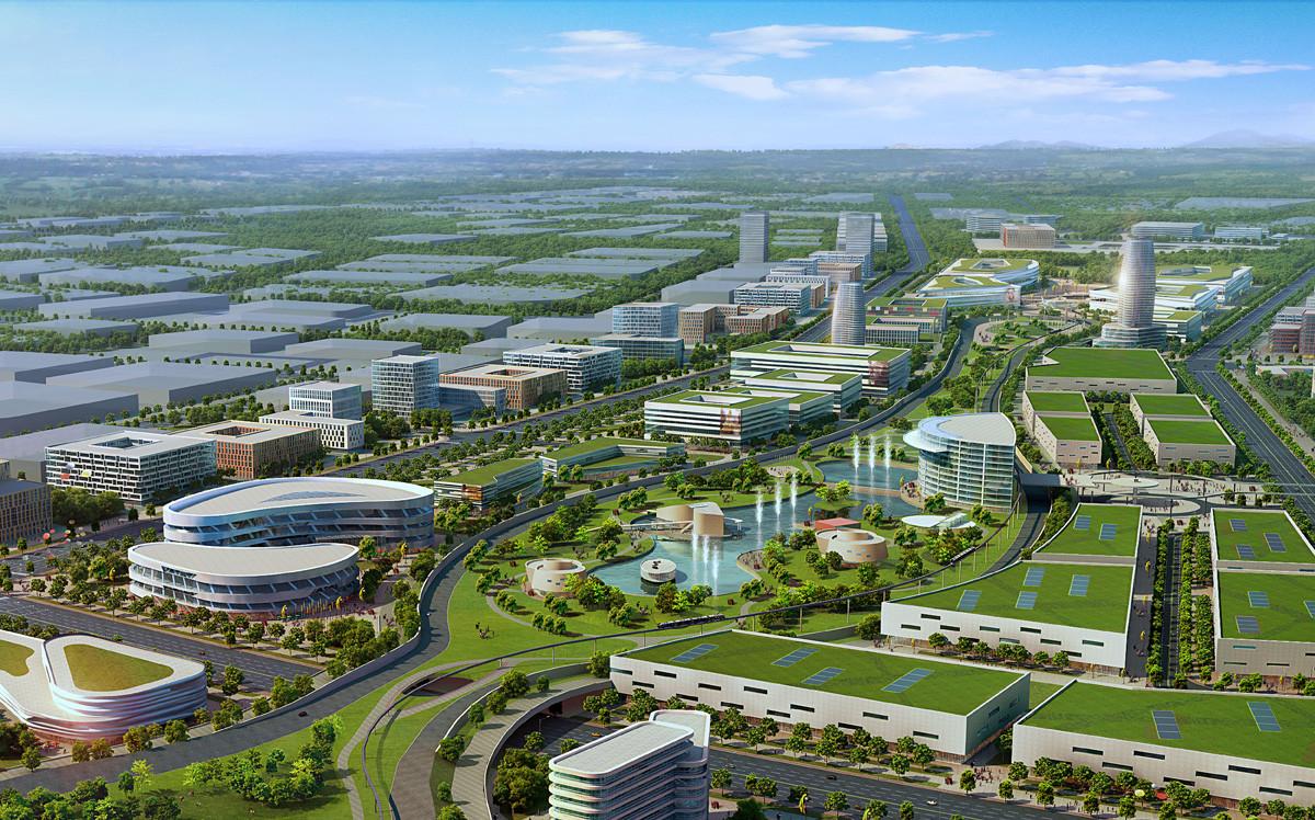 Shenyang International Automobile City Winning Proposal Sba International Archdaily