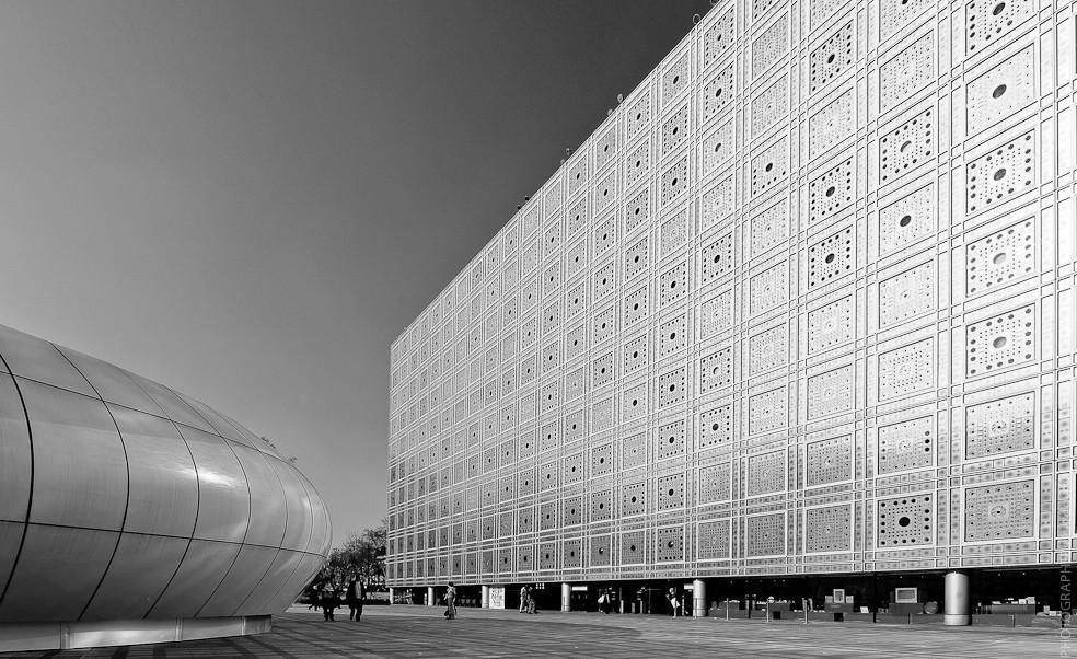 Clásicos de Arquitectura: Instituto del Mundo Árabe / Jean Nouvel, © Ricardo Vidal