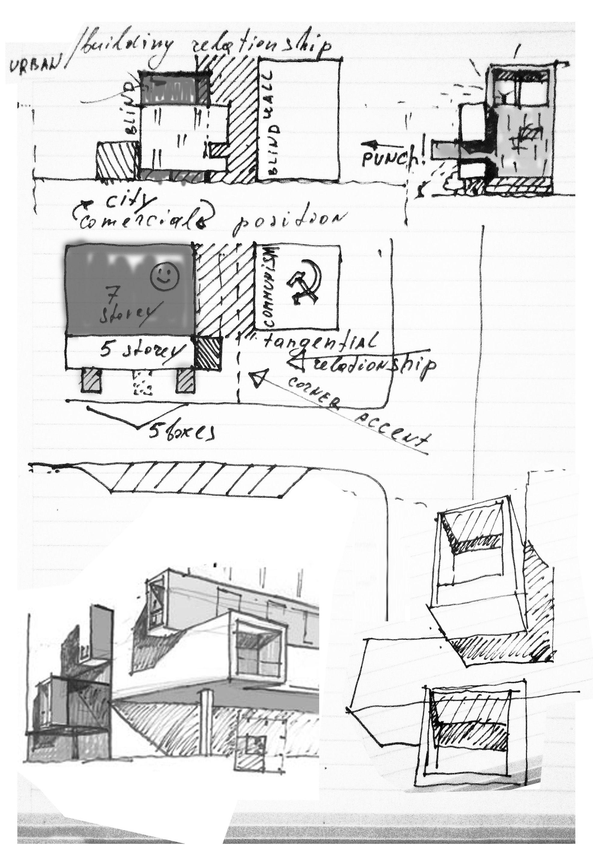 Concept Site Plan Round Building