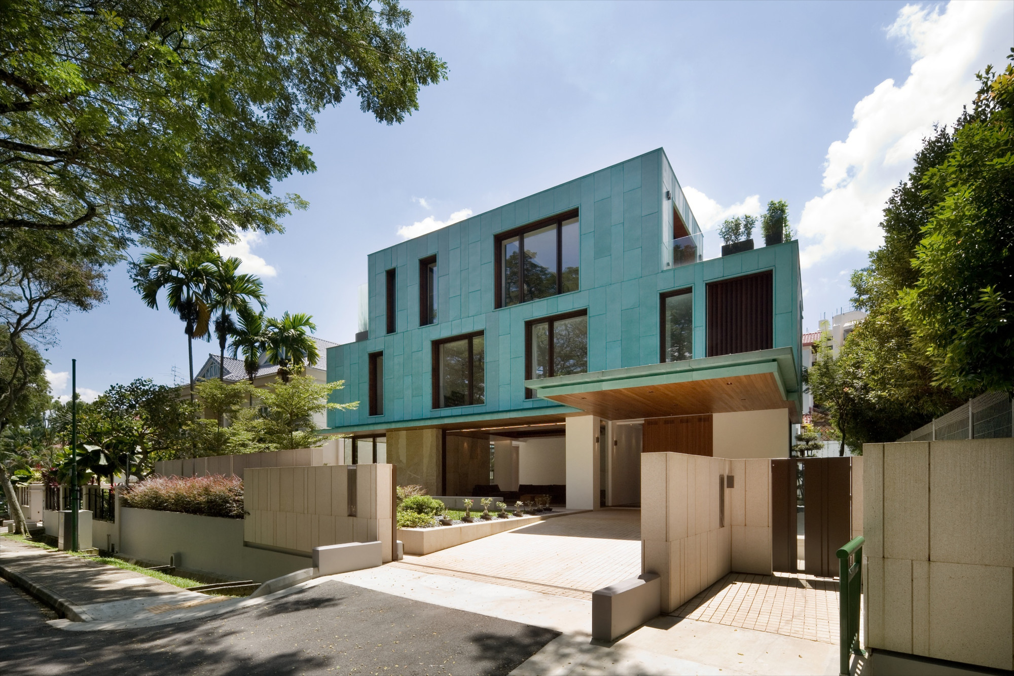 The Green House K2ld Architects Archdaily