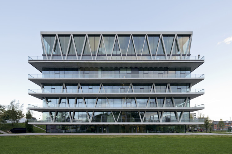 Leutschenbach School / Christian Kerez, Courtesy of Christian Kerez