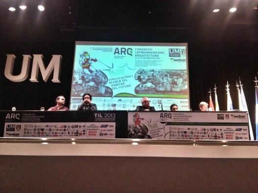 Congreso Latinoamericano de Arquitectura 2013: Cierrre y resumen de Conferencias