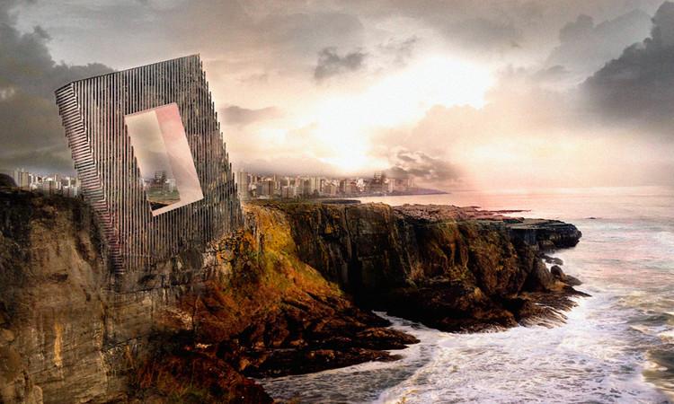 Imagens fotorealistas são ruins para a Arquitetura?, Hotel + Congress Center Proposal. Cortesia de OOIIO Architecture.