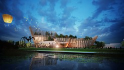 City Cultural Center Competition Entry / Maxthreads