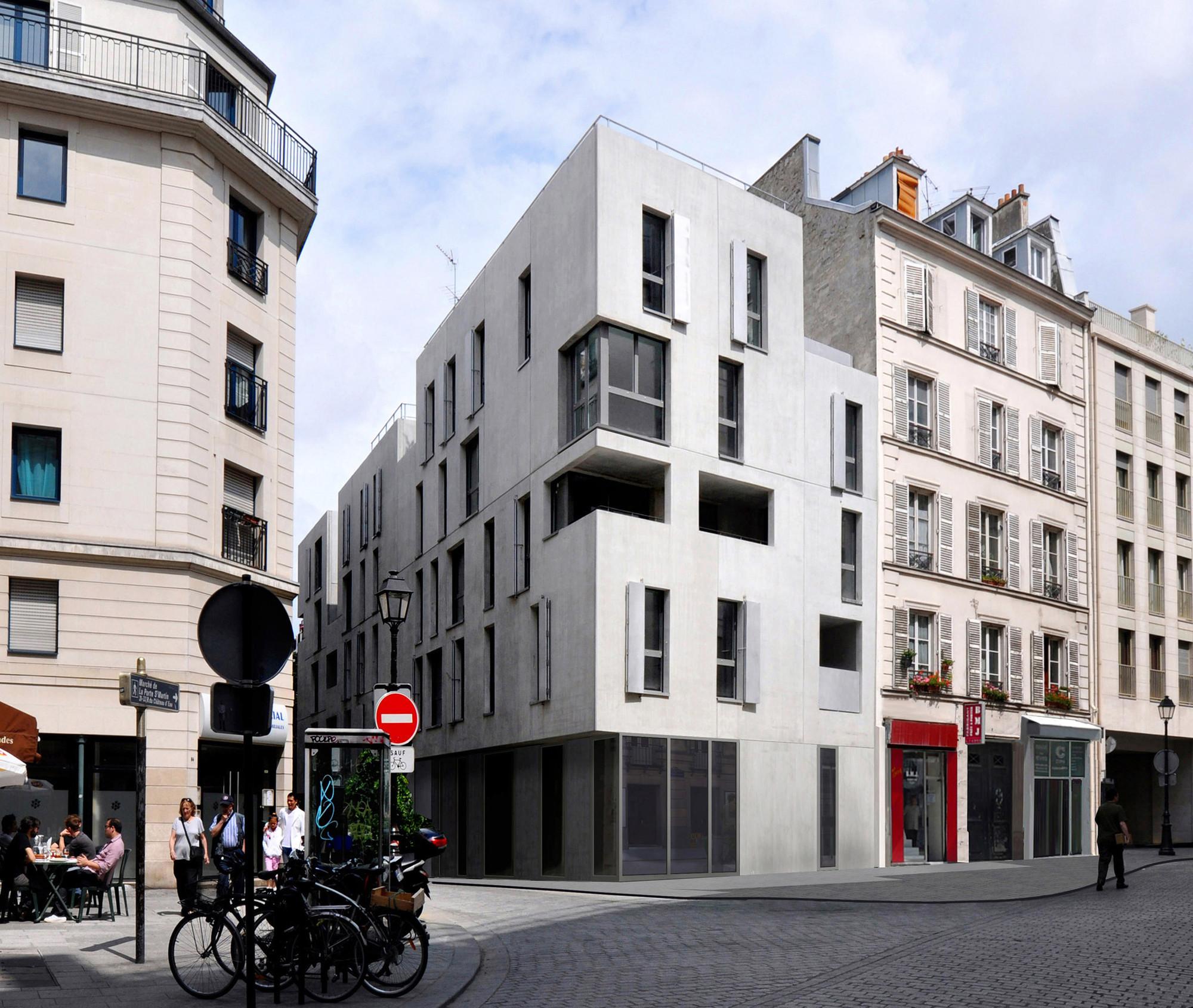 Social Housing / Frédéric Schlachet Architecte, © F. Schlachet