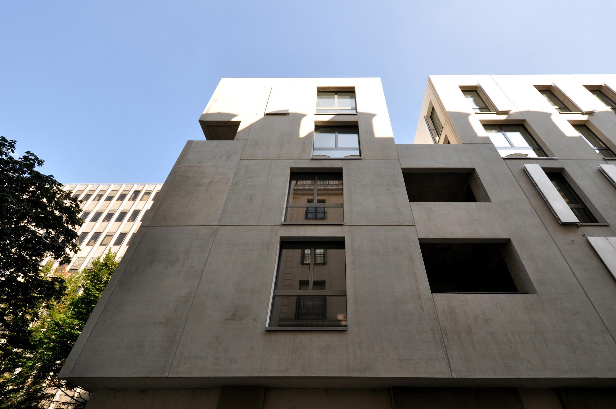 Gallery of social housing fr d ric schlachet architecte 6 for Aea architecte