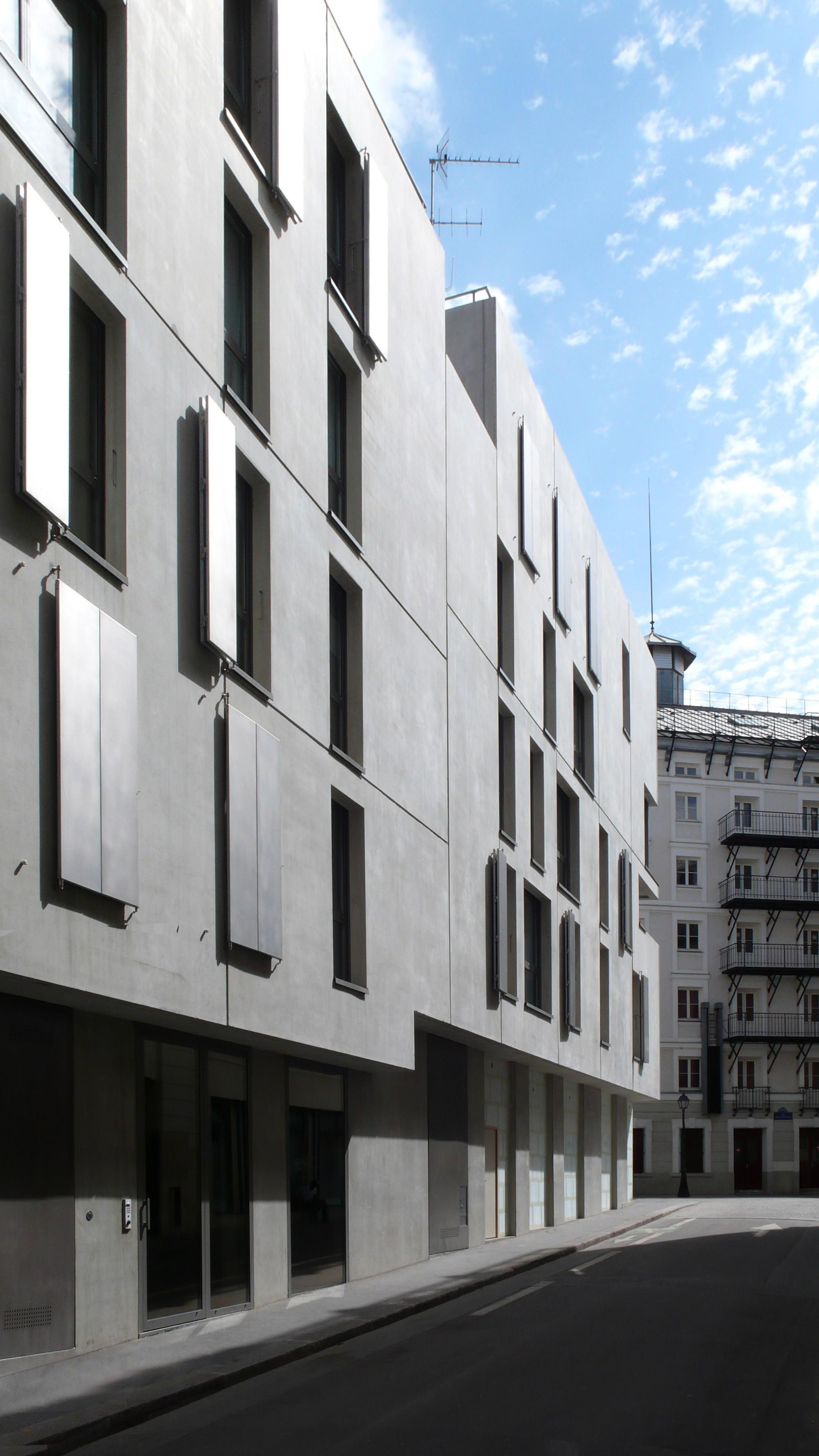 Gallery of social housing fr d ric schlachet architecte 7 for Aea architecte