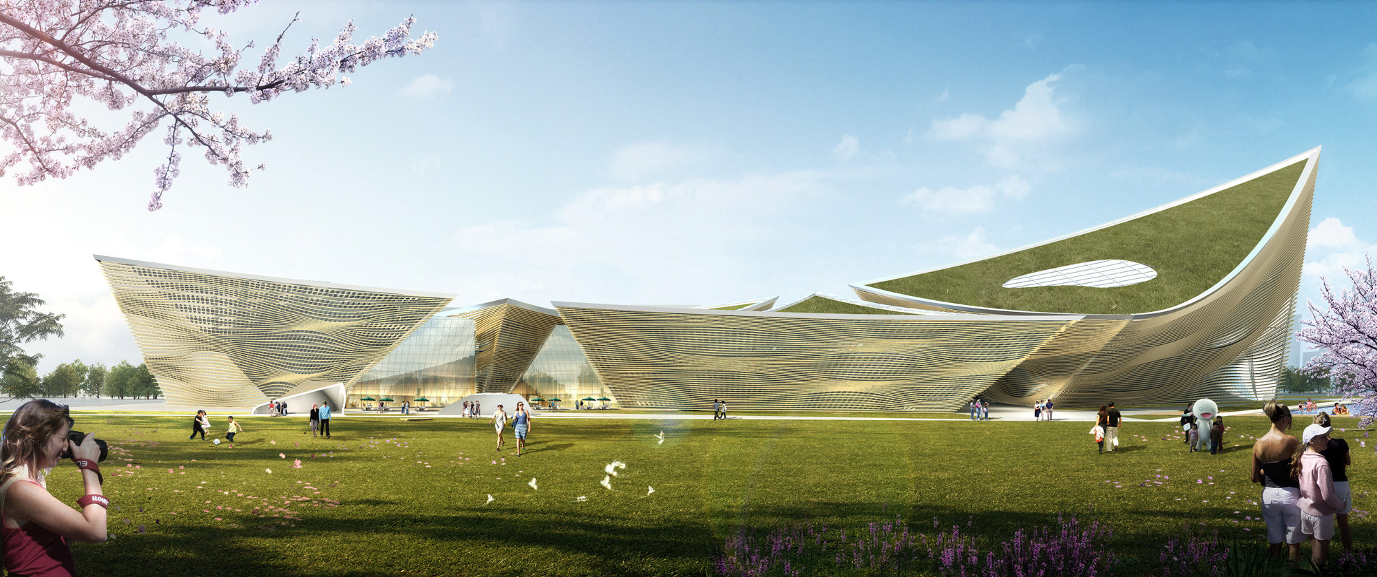 City Cultural Center Competition Entry Theeae Ltd