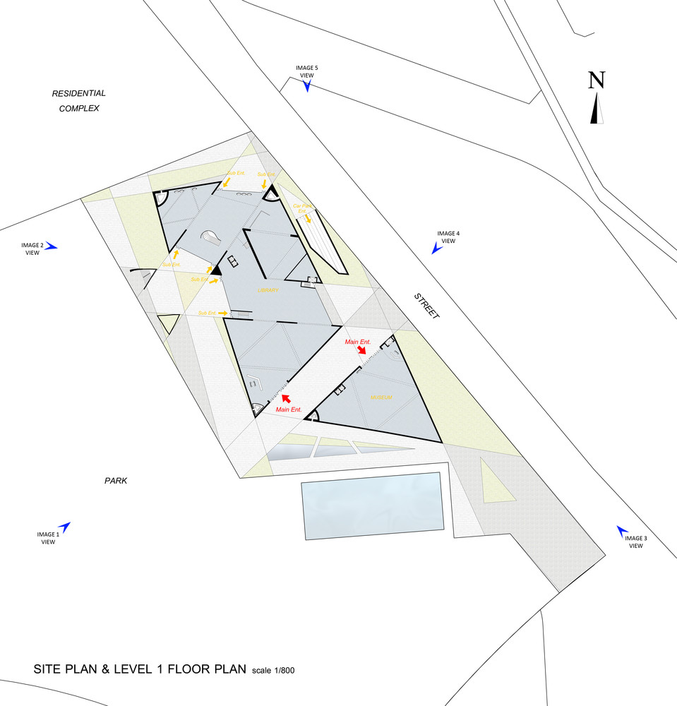 Gallery of City Cultural Center Competition Entry TheeAe LTD 6 – City Of Austin Site Plan Application