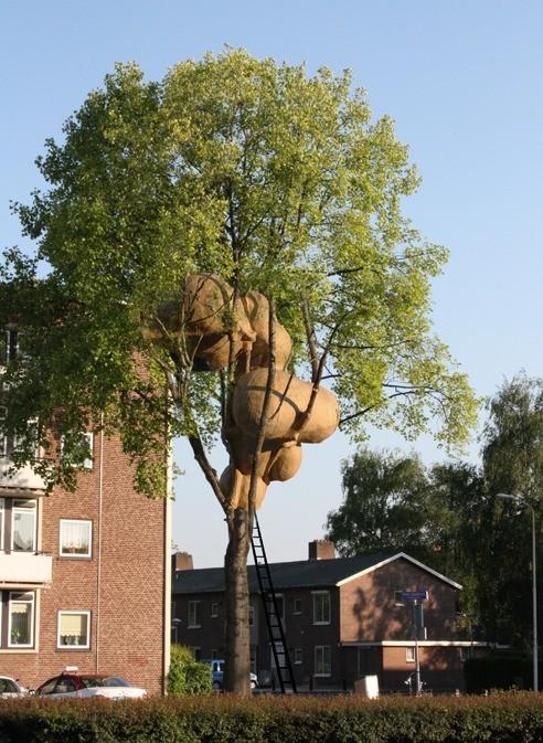 Viver em árvores: a utópica de cidade orgânica de Roel de Boer, © Roel de Boer