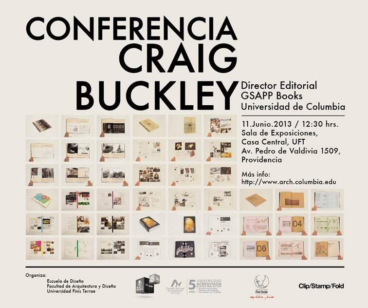 Conferencia Craig Buckley en Universidad Finis Terrae