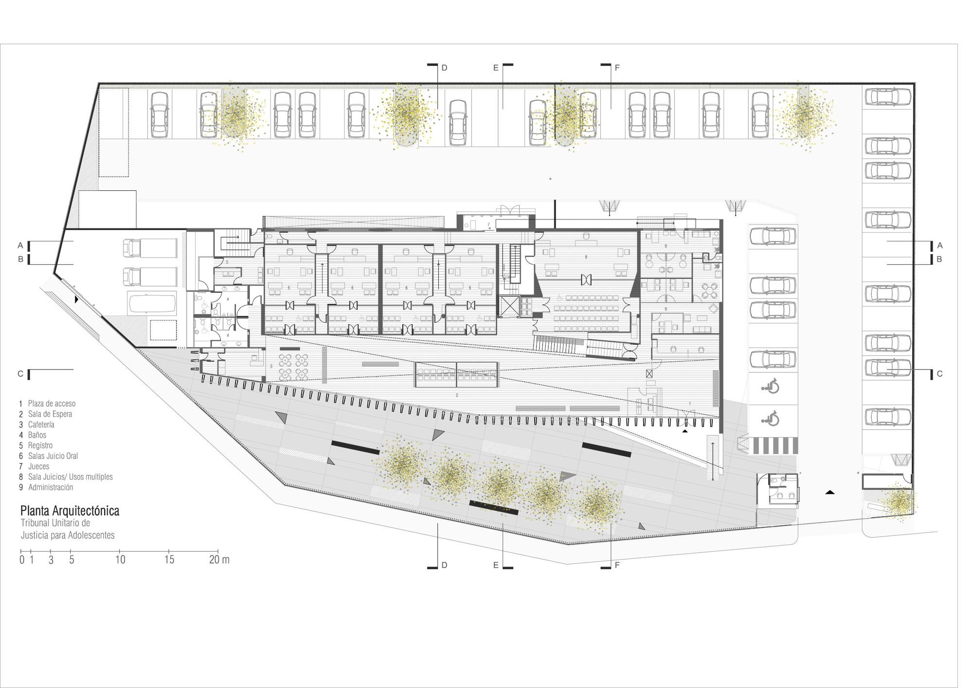 Tribunal Unitario de Justicia para Adolescentes del Estado de Morelos / Dionne Arquitectos + Adaptable arquitectura y diseño