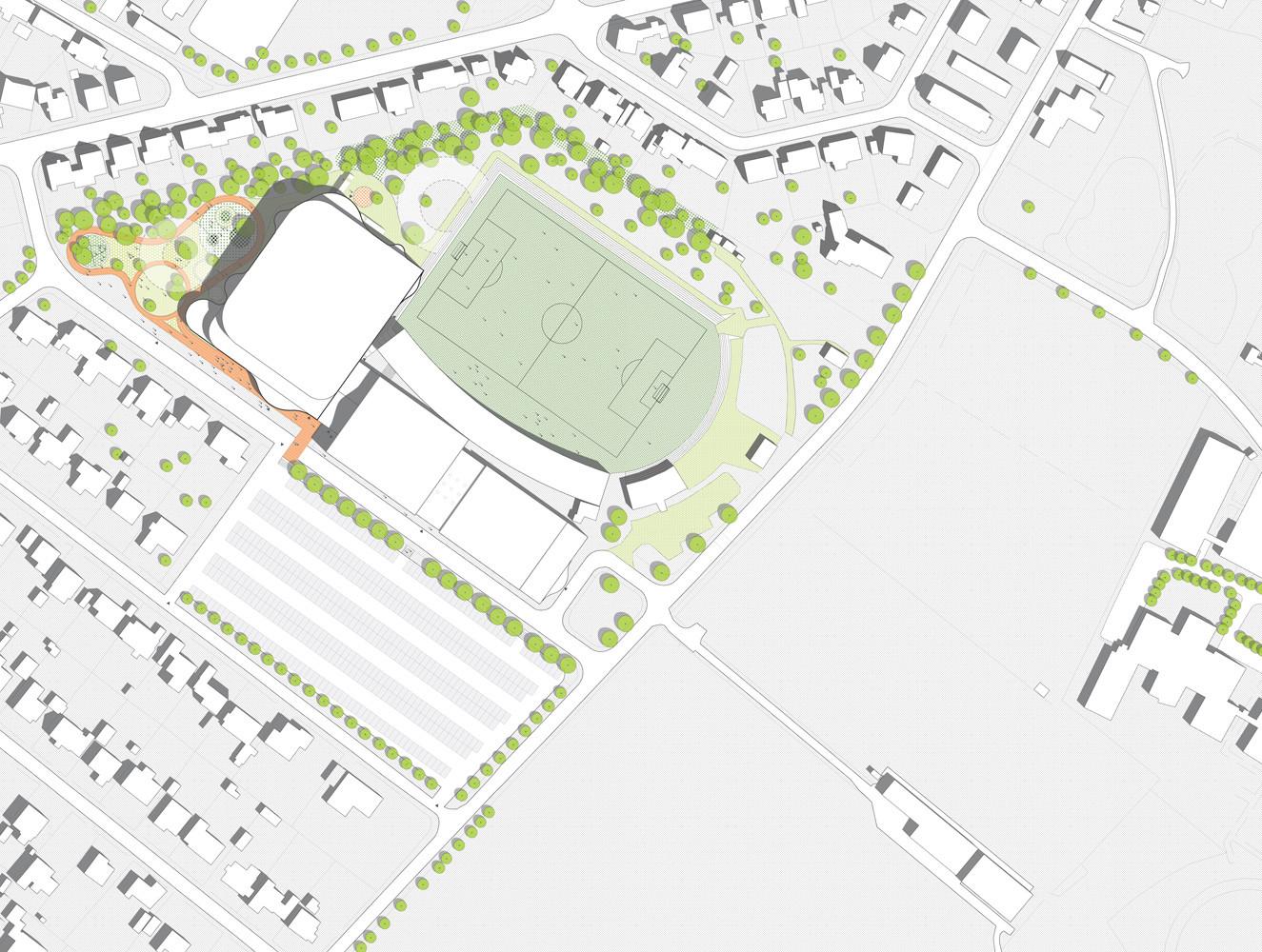 Gallery of Næstved Arena Winning Proposal / CEBRA - 5