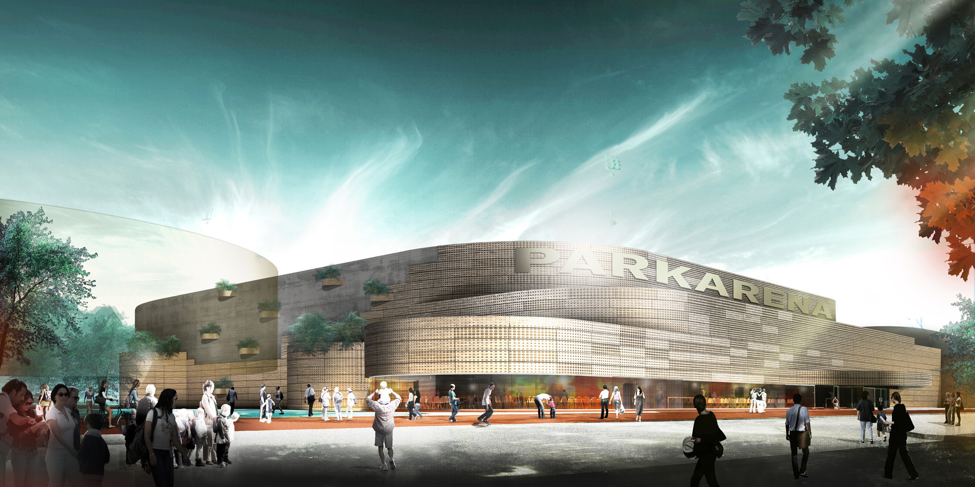 Næstved Arena Winning Proposal / CEBRA, Courtesy of CEBRA