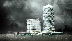 City Cultural Center Competition Entry / KAMJZ Architects