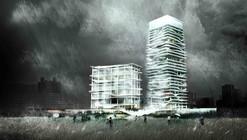 KAMJZ propone torres que amortiguan el efecto sísmico a través del agua