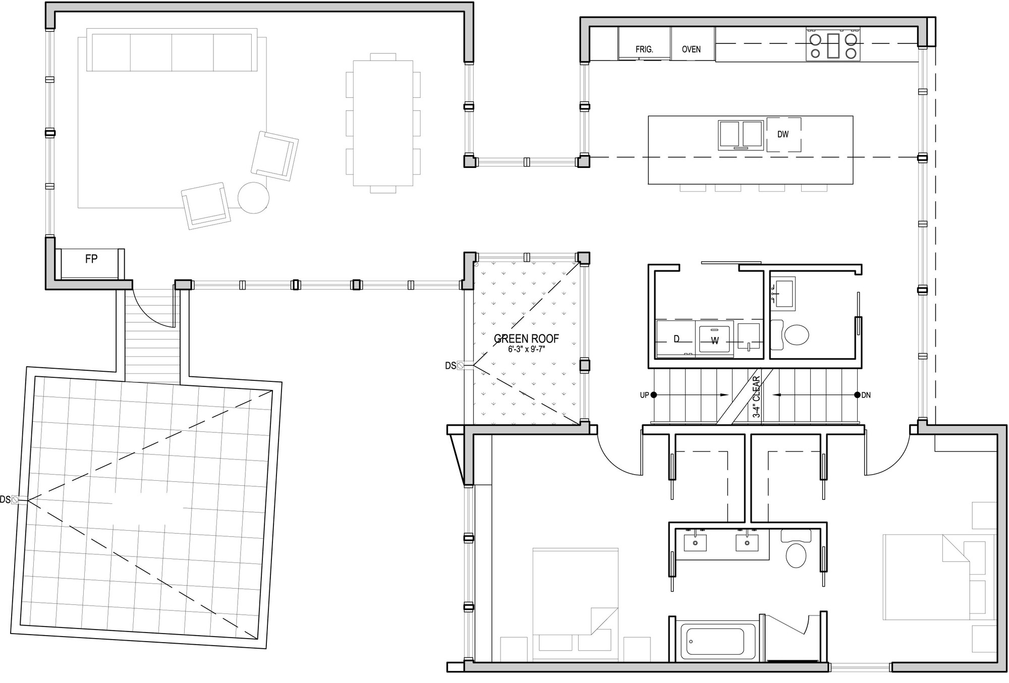Aurea Residence,Second Floor Plan