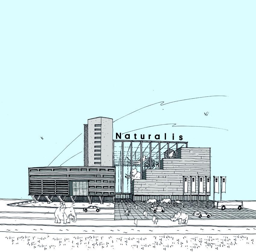 New Naturalis Biodiversity Center Winning Proposal / Neutelings Riedijk Architecten, Courtesy of Neutelings Riedijk Architecten