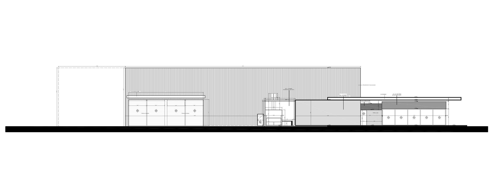 Galer a de centro de distribuci n y edificio de oficinas for Distribucion oficinas