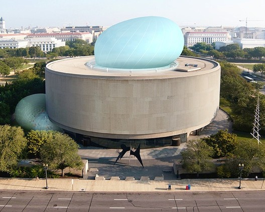 The Smithsonian Scrapes Diller Scofidio + Renfro's Hirshhorn 'Bubble', Courtesy of Diller Scofidio + Renfro