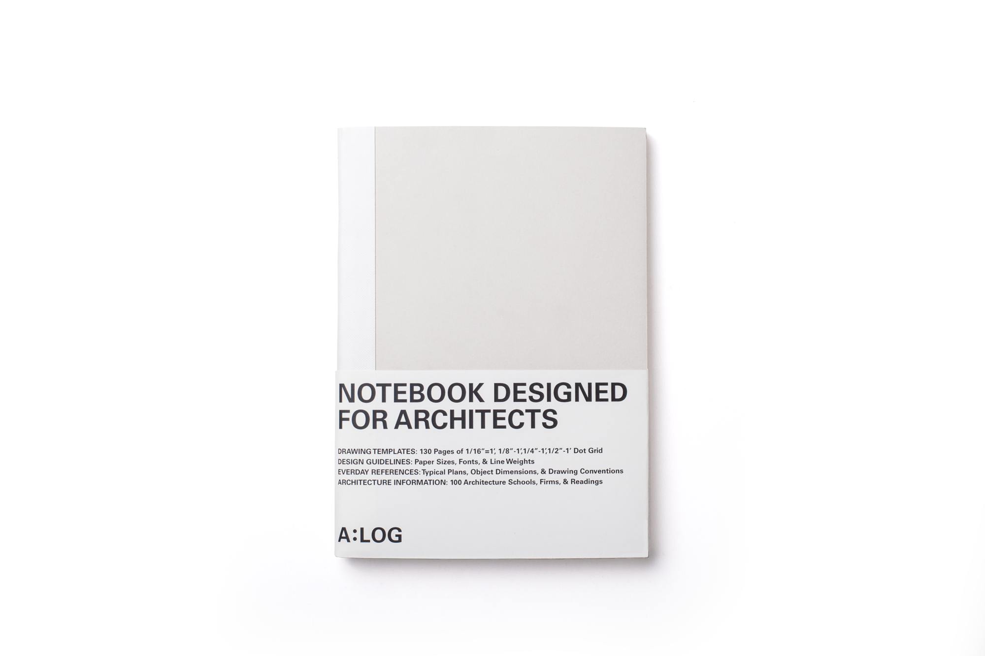 A:LOG : A Notebook Designed Just for Architects, Courtesy of A:LOG