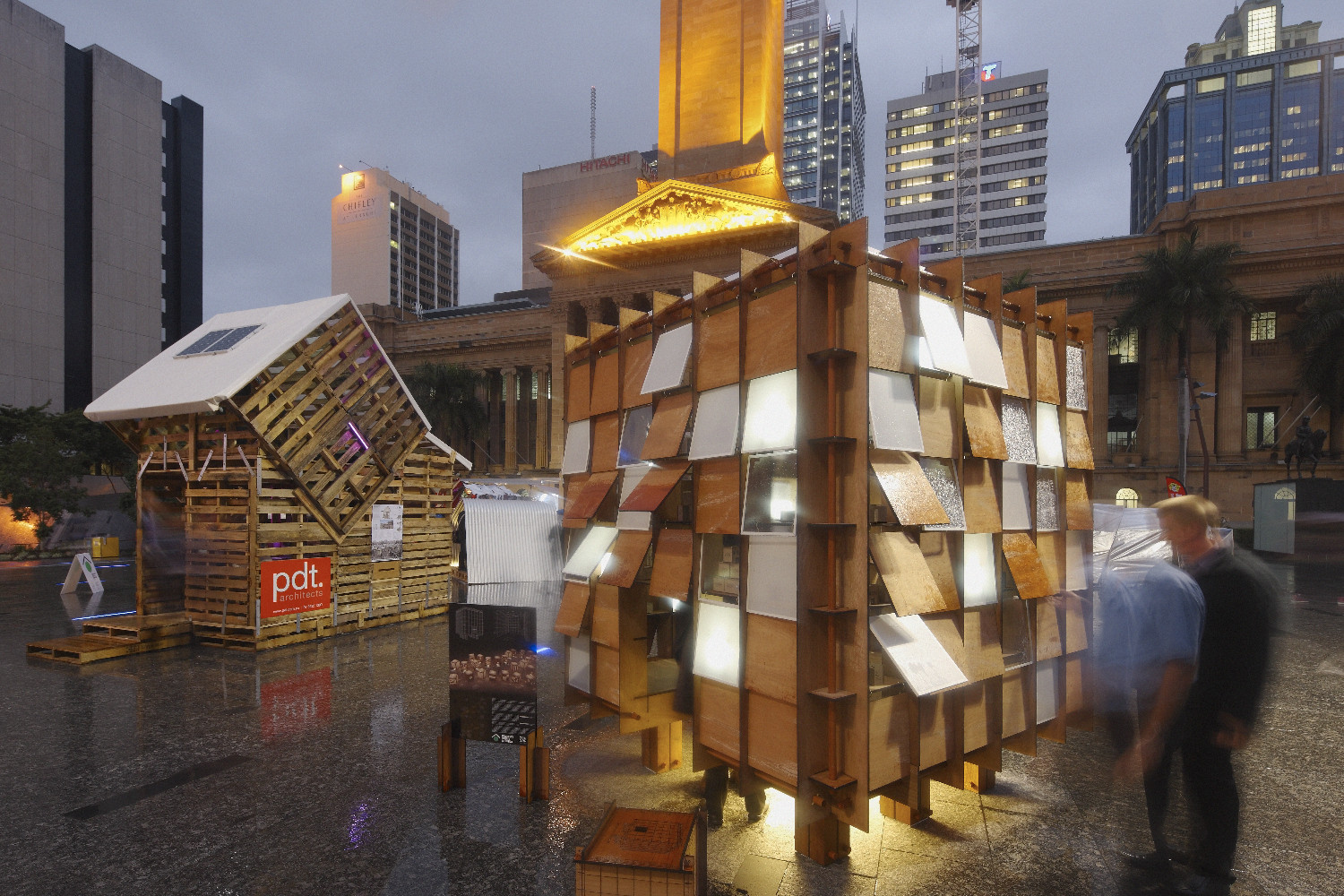 Emergency Shelter Winning Design / Nic Gonsalves + Nic Martoo, © Scott Burrows