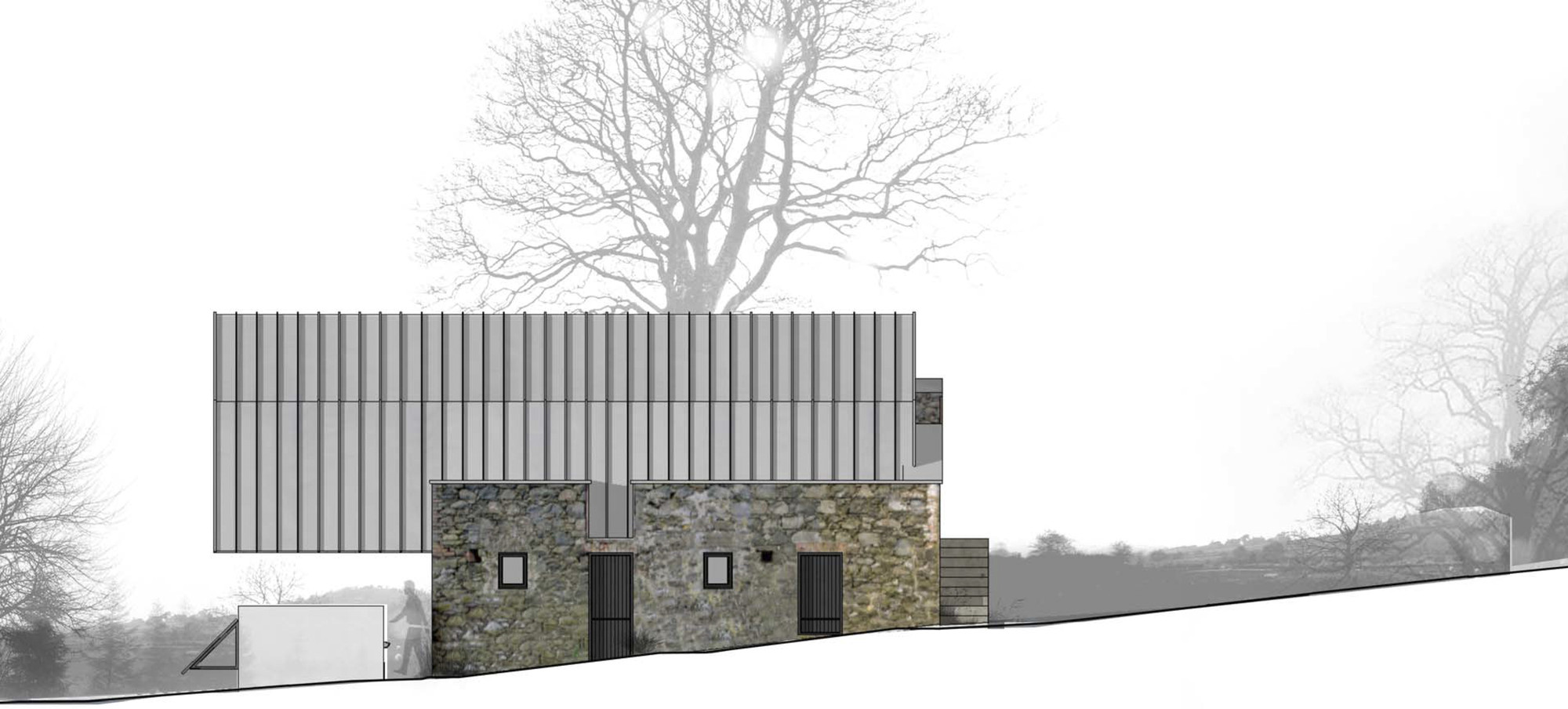 Gallery of loughloughan barn mcgarry moon architects 16 for Modern irish house architecture