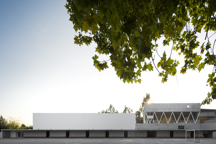 Basic And Secondary School Of Sever Do Vouga / Pedro Domingos Arquitectos, © Fernando Guerra | FG+SG