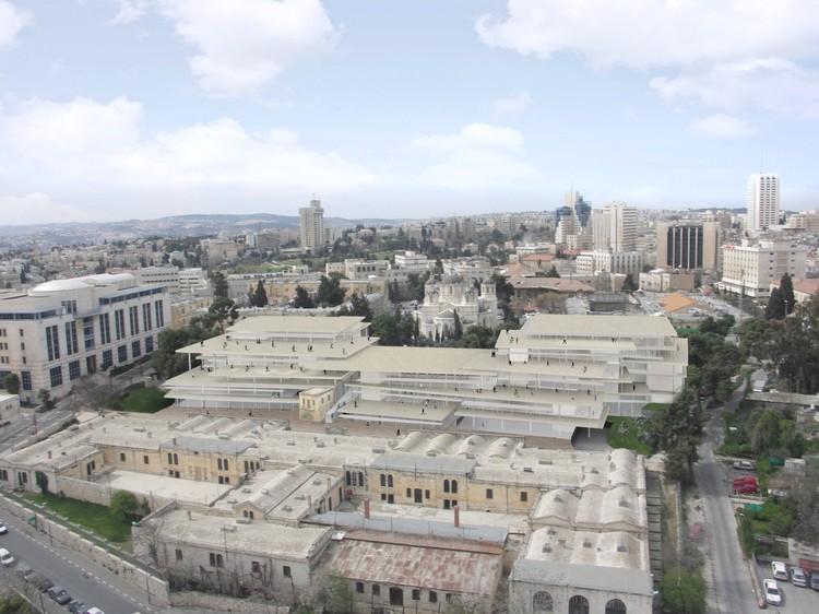 SANAA revela planos para Novo Campus de Arte e Design em Jerusalém, © SANAA