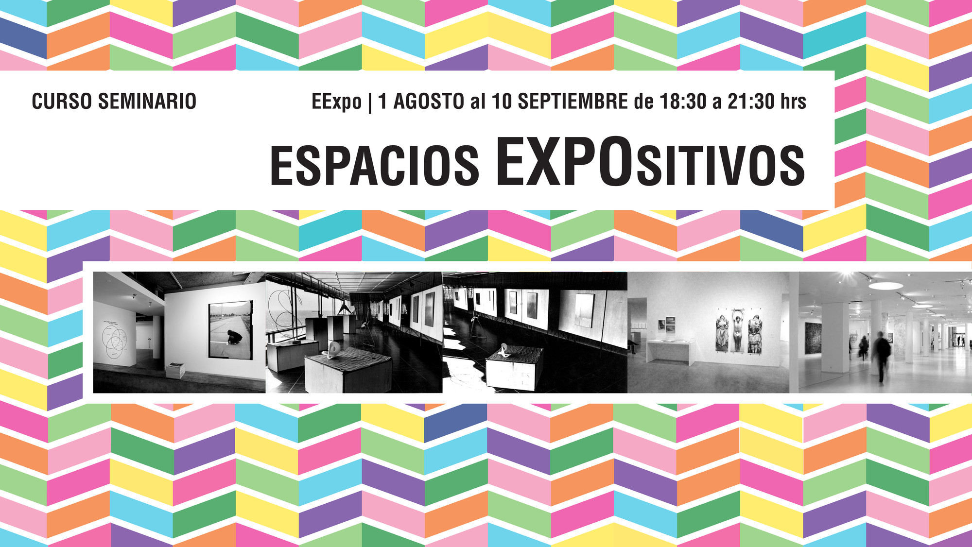 Curso|Seminario Espacios EXPOsitivos, Escuela de Arquitectura UC
