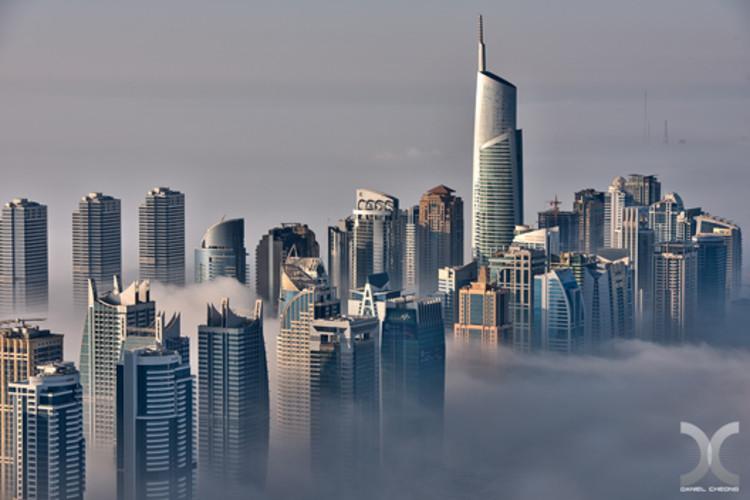 Invasive Aesthetics: um manifesto para reviver a identidade arquitetônica em nações em desenvolvimento, Dubai. © Daniel Cheong