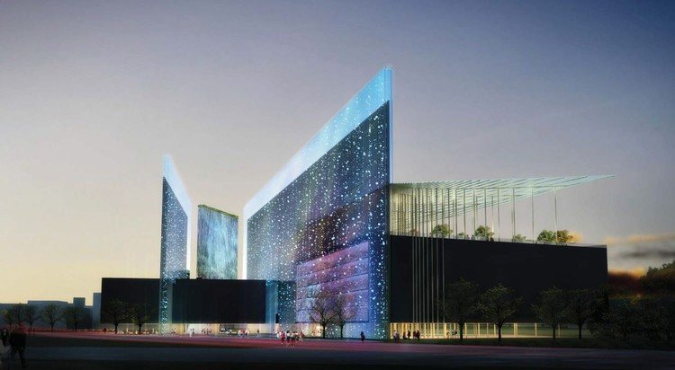 Taichung City Cultural Center Comeptition Entry / Williamson Architects, Courtesy of Williamson Architects