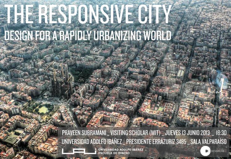 """Charla UAI """"La Ciudad Receptiva: Diseño para un mundo en rápida urbanización"""", Cortesía de UAI"""
