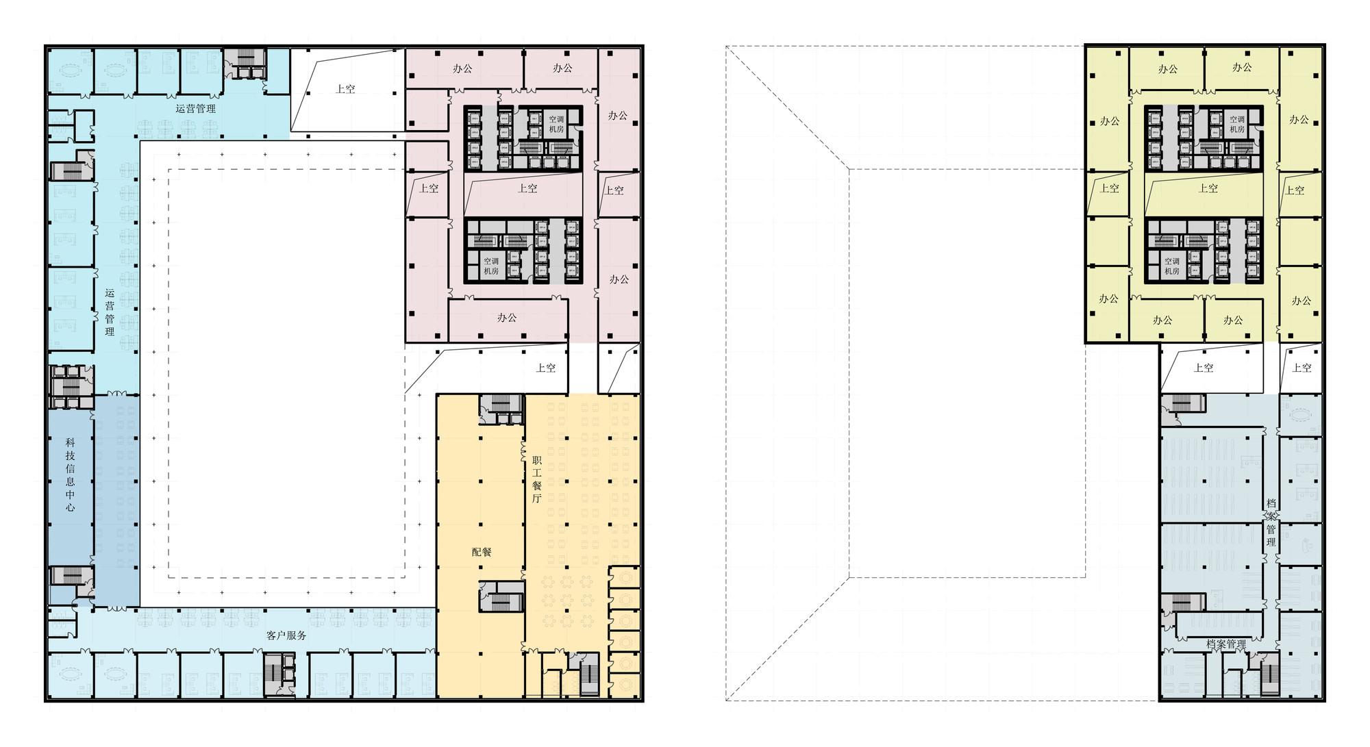 Gallery Of Huishang Bank Headquarters Y Design Office 13