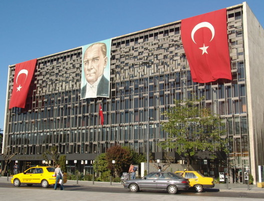 Ataturk Cultural Center. Image via Wikimedia Commons.