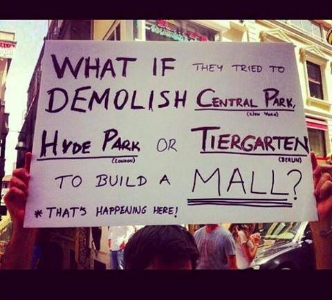 When Urban Planning Gets Political: The History of Taksim Square, via Plataforma Urbana