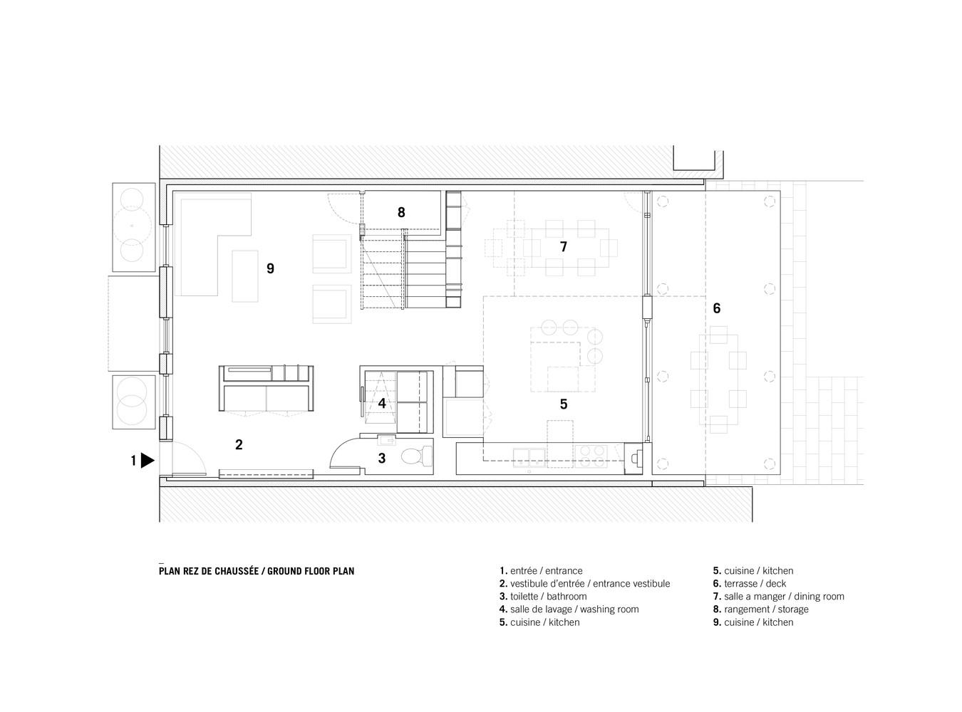 Chambord Residence,Ground Floor Plan