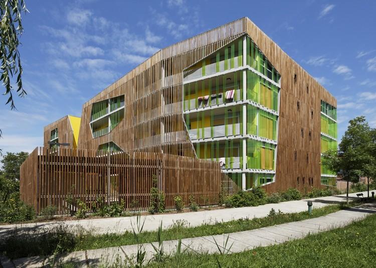 Residence Origami / Agence Bernard Bühler, © Vincent Monthiers