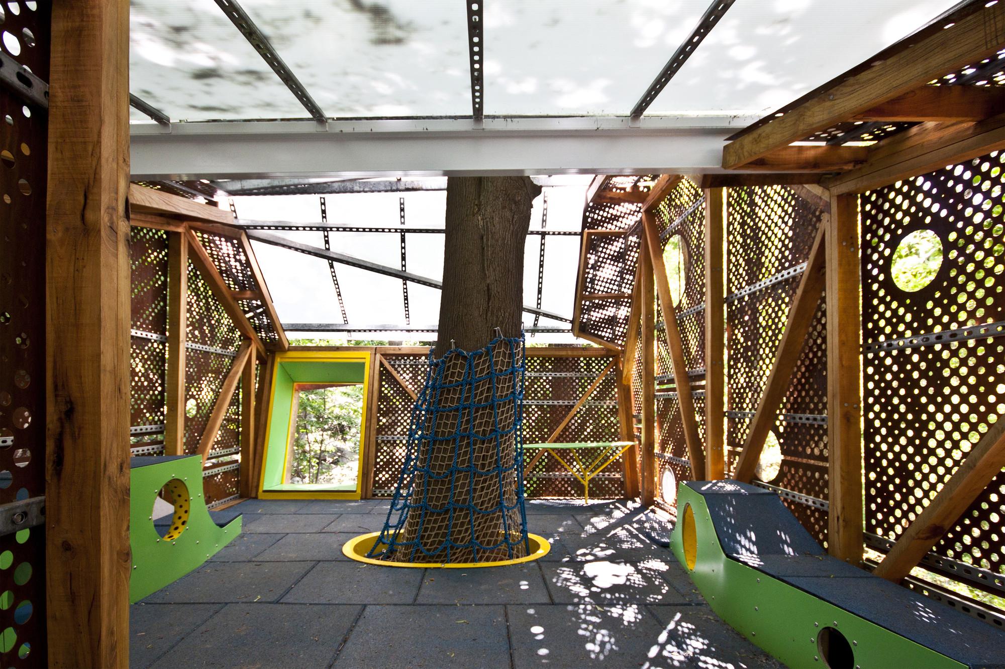 Innovative Outdoor Classroom ~ Play perch syracuse university archdaily