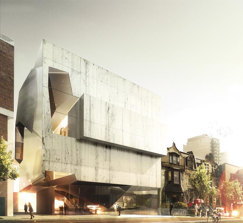 Montreal Museum of Fine Arts Pavilion 5 Finalist Proposal / Saucier + Perrotte Architectes, © Luxigon