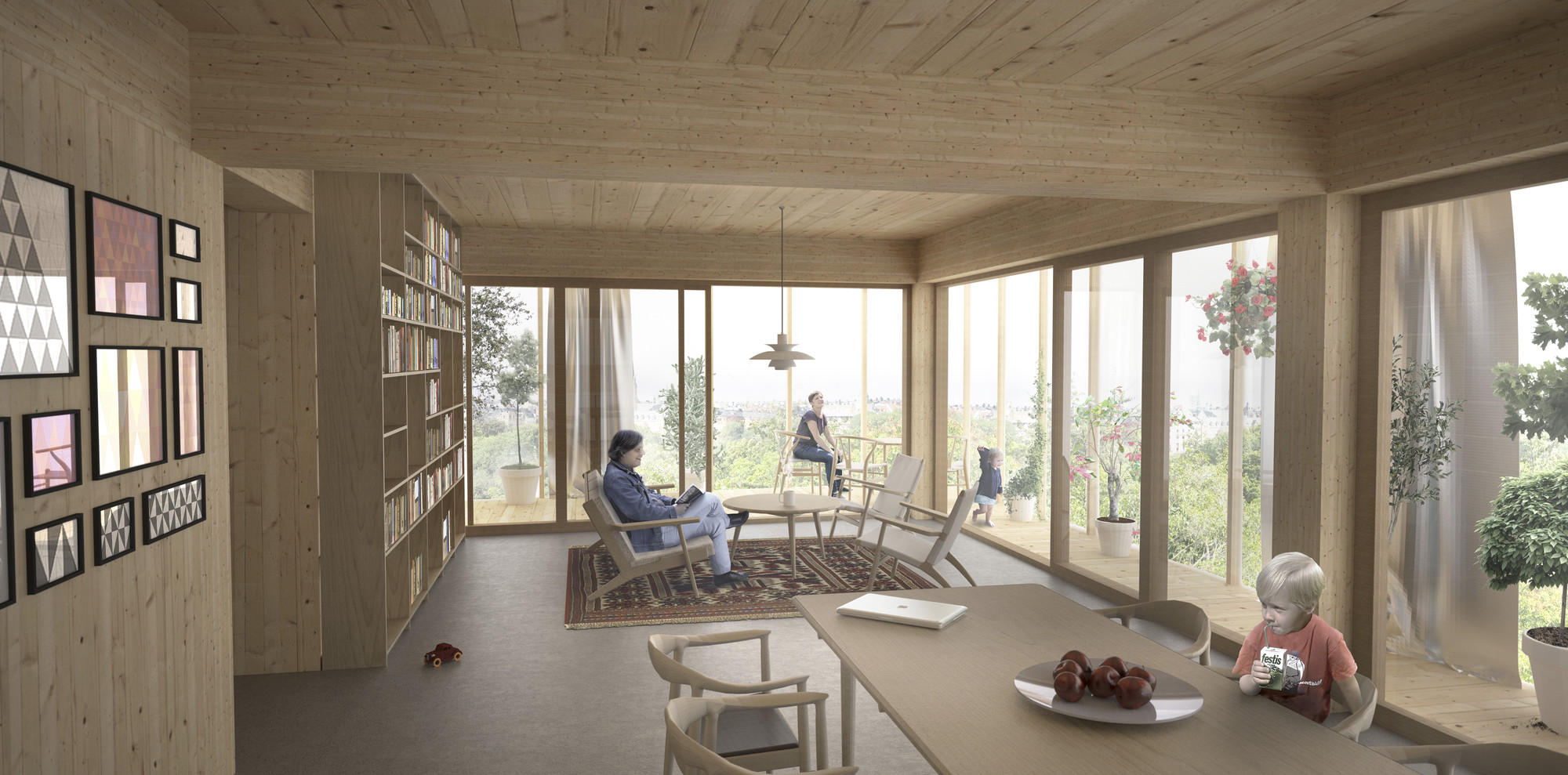 Lovely Courtesy Of C.F. Møller Architects With DinellJohansson Good Looking
