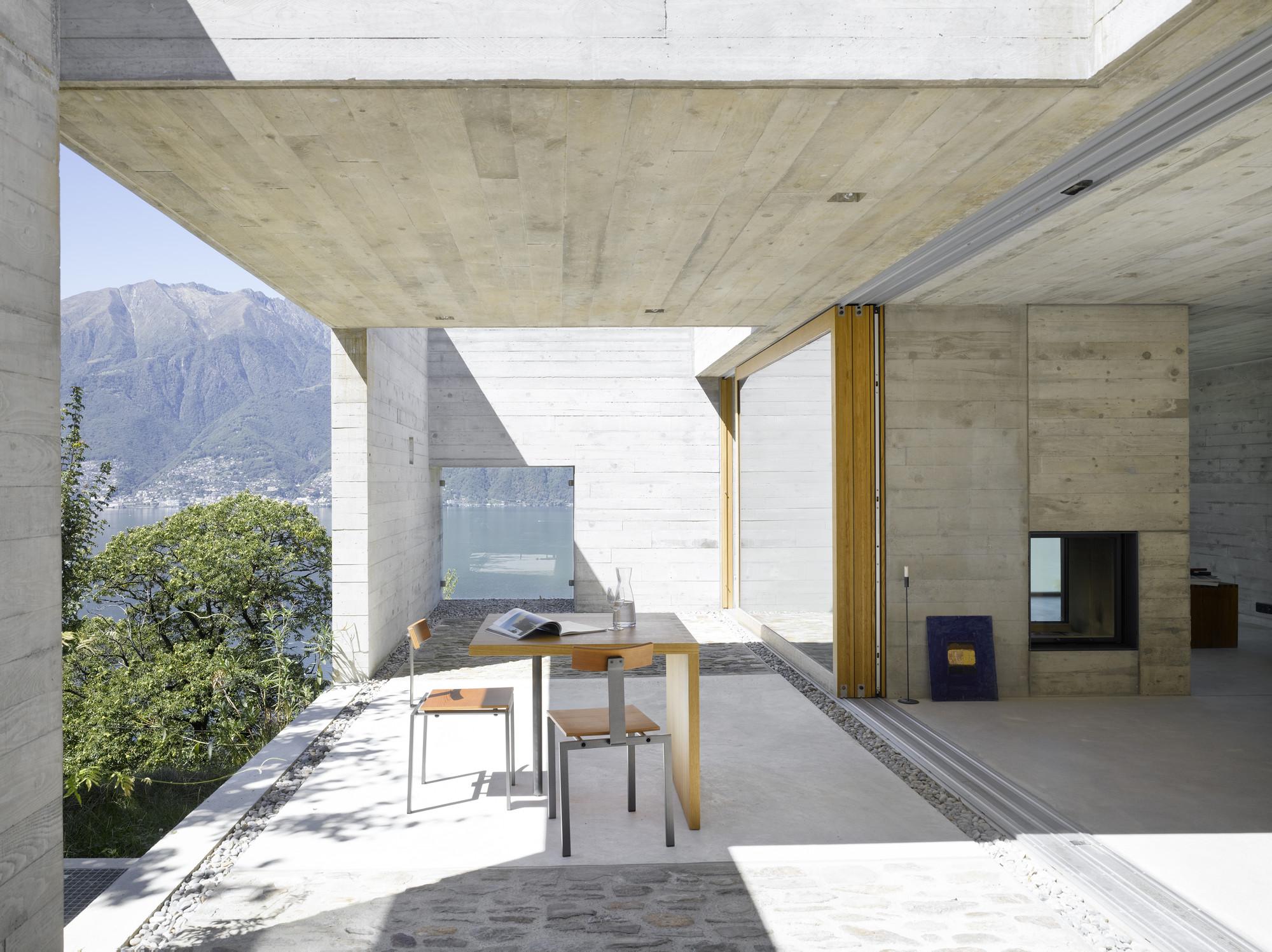 Concrete House Wespi De Meuron
