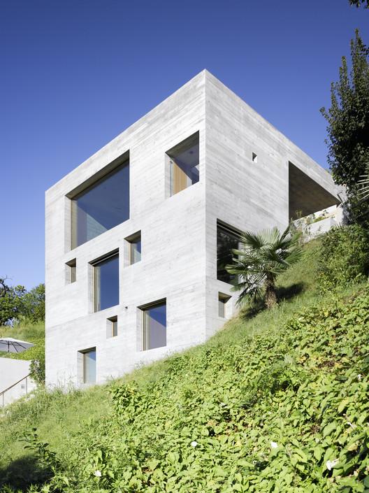 New Concrete House  / Wespi de Meuron, © Hannes Henz