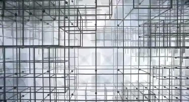 O Pavilhão Serpentine de Fujimoto através da lente de James Aiken, Imagem capturada do vídeo.