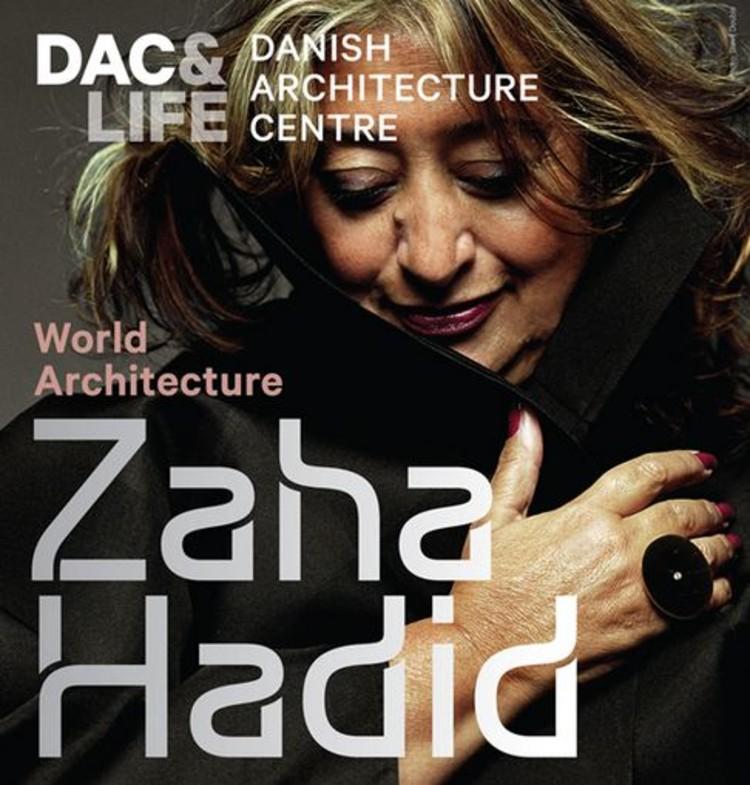 "Exposição ""Zaha Hadid - World Architecture"" , Cortesia de  Zaha Hadid Architects & Danish Architecture Centre"