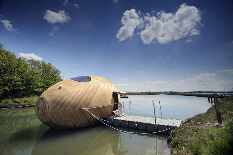 Exbury Egg / PAD studio + SPUD Group + Stephen Turner, © Nigel Rigden